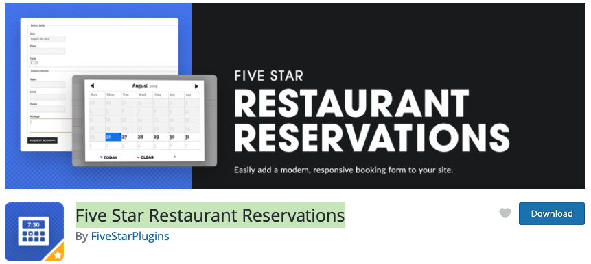 Five Star Reservation